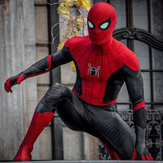 """Heroic Hollywood on Instagram: """"This is a top tier Spider-Man suit. 🔥"""" Mens Suits, Spiderman, Hollywood, Superhero, Fictional Characters, Dress Suits For Men, Spider Man, Men's Suits"""