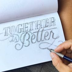 Logo process by @phoooebers and /roxyprima/ - #typegang - http://typegang.com | http://typegang.com #typegang #typography