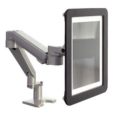WorkRite iPad Holder. Securely mount generation 2 & 3 iPad to Willow monitor arm.