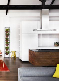 Kitchen by Gordon Johnson. Photo by Sharyn Cairns, styling by Megan Morton.