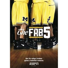 Shop ESPN Films 30 for The Fab Five [Blu-ray] at Best Buy. Find low everyday prices and buy online for delivery or in-store pick-up. Basketball Movies, Wsu Basketball, Basketball Shorts Girls, Basketball Schedule, Basketball History, Adidas Basketball Shoes, College Games, College Game Days, Michigan Wolverines Basketball