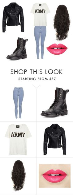 """Untitled #78"" by martinezjorge ❤ liked on Polyvore featuring beauty, Topshop, rag & bone, NLST, New Look and Fiebiger"