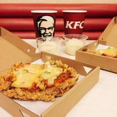 KFC raised the bar on it's fried chicken game overseas.
