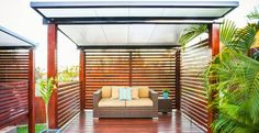 Cabana Patio Rooms - Insulated Roof