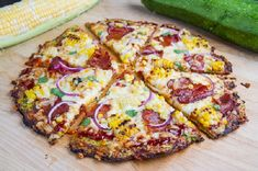 Zucchini Pizza Crust | Inspired Dreamer