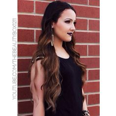 Thats why her hair is so big its full of secrets bellami hair gorgeous ombre with bellami hair extensions in chestnut brown code beautybox gives you pmusecretfo Gallery