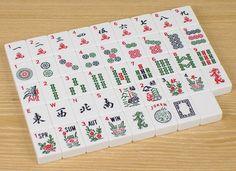New Solid White Mah Jong Tiles