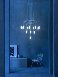 Ideas Original to decorate your table this season LED steel pendant lamp CHAN LED - Prandina Ideas Original to decorate your table this season Coral Pantone, Pantone 2020, Pantone Color, Monochrome Interior, Luxury Interior Design, Blue Photography, Art Blue, Himmelblau, Blue Rooms