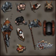 Game Master's Campaign - Rpg art kits | Game Masters's Campaign – Rpg art kits