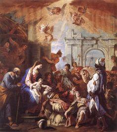 Galerii de arta: Sebastiano Ricci (1 august 1659 – 15 mai 1734), pictor italian baroc