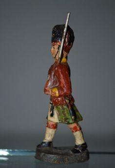Lineol Massefiguren 11 schottische Gordon-Hochländer Höhe 7,5cm