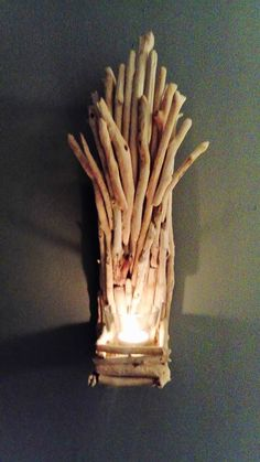 Pin by Carol Saunders on Driftwood Sconce Candle Holder Rustic | Pinterest | Driftwood & Pin by Carol Saunders on Driftwood Sconce Candle Holder Rustic ...