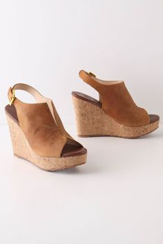 Lustrous Heights Wedges- Anthropologie