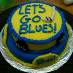 St.Louis Blues Cake! :)