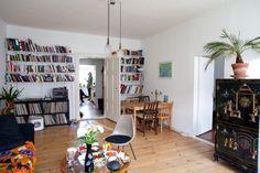 Zora Mann's Apartment in Berlin / photo by Mirjam Wählen