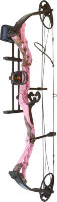 Affordable women's bow - Diamond® Archery Infinite Edge Bow Package — Pink Blaze.