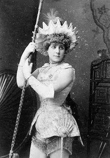 "Nellie Farren in ""Aladin"", 1881"