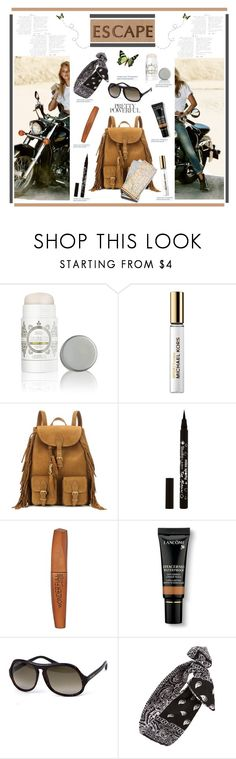 """""""Take Me Anywhere'"""" by dianefantasy ❤ liked on Polyvore featuring beauty, Lavanila, Michael Kors, Yves Saint Laurent, Rimmel, Lancôme, Jimmy Choo and Topshop"""