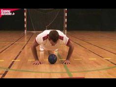 Muscler son corps avec les handballeurs
