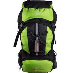 efd5736461 WASING 75L Water-resistant Internal Frame Backpack Hiking Backpacking Packs  for Outdoor Hiking Travel Climbing