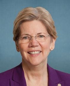 Democrat Elizabeth Warren is the senior Senator from Massachusetts. Previously, she was a Harvard Law School professor specializing in bankruptcy law. A prominent legal scholar, Warren is often cited in the field of commercial law. She's an active consumer protection advocate whose scholarship led to the conception and establishment of the U.S. Consumer Financial Protection Bureau.