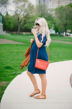 10 Cute #PregnancyOutfits for Summer #SummerFashion #FashionTrend #LatestFashionTrend