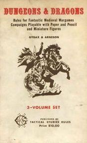 The original Dungeons & Dragons set