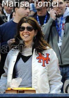 Mets fan Marissa Tomei