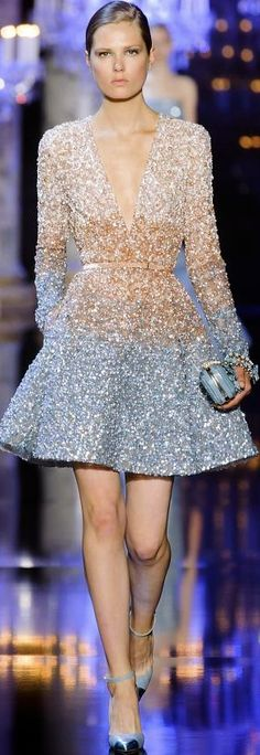 I need to put Samantha in a new movie just to describe this dress at the premiere! ~ Elie Saab Fall 2014 Haute Couture