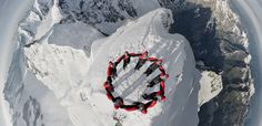 Impressive Drone Photographs From Atop A Swiss Mountain Top #photography #selfie