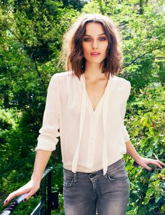Keira Knightley | Street Fashion  I just adore her. What's not to love?