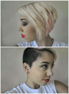 Nice idea for growing out the lady hawk. Not sure I'm ready to commit to longer hair though.
