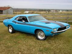 1972 Dodge Challenger, best colour in my opinion.