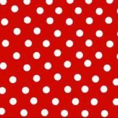 Red polka dots my favorite!