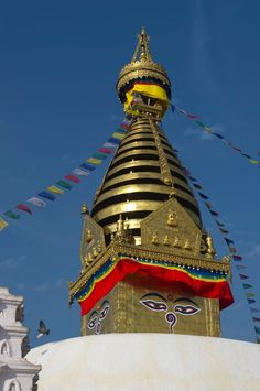 The cultural heritage of the Kathmandu Valley, in Nepal, is illustrated by seven groups of monuments and buildings which display the full range of historic and artistic achievements for which the Kathmandu Valley is world famous. The seven include the Durbar Squares of Hanuman Dhoka (Kathmandu), Patan and Bhaktapur, the Buddhist stupas of Swayambhu and Bauddhanath and the Hindu temples of Pashupati and Changu Narayan.