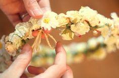 Lucky Sparkle: Flower Tiara for Spring