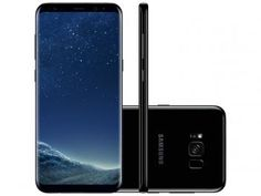 Smartphone Samsung Galaxy S8+ 64GB Preto - Dual Chip 4G Câm. 12MP + Selfie 8MP Tela 6.2""