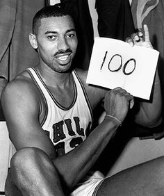 100 points... before the 3 pointer existed