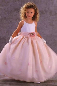 277 best ring bearers and flower girls outfits images on pinterest fashion a line floor length spaghetti straps flower girl dress mightylinksfo
