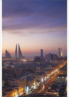 Greetings Card-Bahrain, Manama-Photo Greetings Card made in the USA The Beautiful Country, Beautiful Places, Framed Prints, Poster Prints, Canvas Prints, Manama Bahrain, Kingdom Of Bahrain, Light Trails, World Cities
