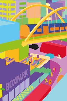 YONI ALTER http://www.widewalls.ch/artist/yoni-alter/ #urban #contemporary #art #design