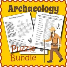 Use this bundle of five engaging archaeology puzzles to supplement your own unit on…