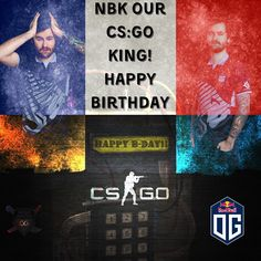 Happy Bday NBK!! We bow down in your presence, King of CS:GO  @nbk_csgo @ogesports @redbull @teamrazer @steelseries @steelseries_france #csgo #csgofun #csgoesport #csgopro #gamer #gamers #gamerlife #gamersofinstagram #esports #esport #esportsteam #esporte #dreamog #og #redbull #steelseries #razergaming Razer Gaming, E Sport, Game R, Cs Go, Funny Images, How To Memorize Things, Happy Birthday, Bow, Community