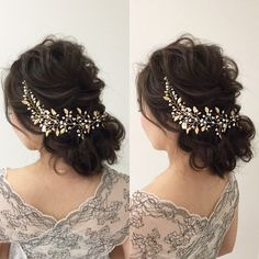 【wedding✳︎受注製作】小枝のヘッドドレス 45cm