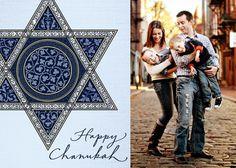 Heavenly Star - Hanukkah Greeting Cards in Light Blue | Hallmark