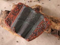 """Seifenschalen - Seifenablage """"Trockenwelle klein"""" - antik - ein Designerstück von SILKERAMIK bei DaWanda"""