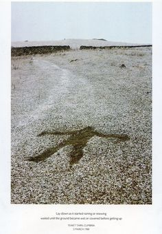 Andy Goldsworthy has been lying under a carpet of snow, how do we understand and document art that is temporary? Andy Goldworthy, Different Kinds Of Art, Nature Artists, Urban Setting, Art Carved, Environmental Art, Beach Art, Public Art, Natural Materials