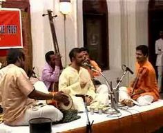 Prince Rama Varma sings the thillana in Kadanakuthoohalam by his Guru Dr.M.Balamuralikrishna.