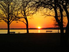 Hike Delaware's trails and take in gorgeous sunset views.