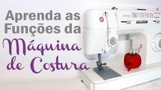 Aprenda as Funções da Máquina de Costura | Aprendendo a Costurar - Aula #2